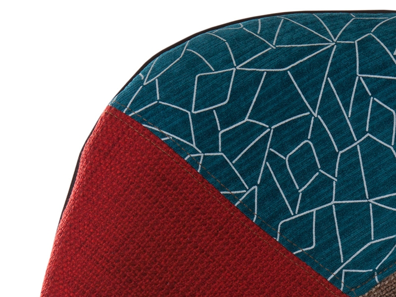 Panton stuhl patchwork for Panton stuhl replik