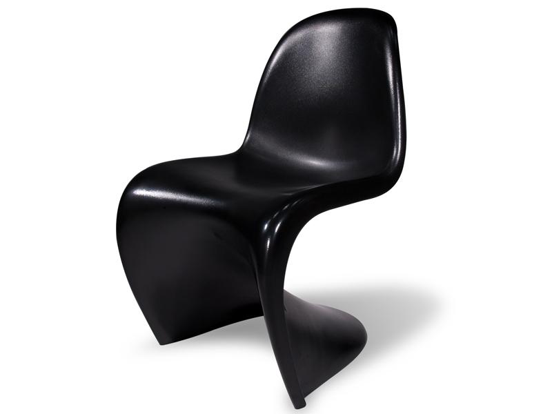 panton stuhl schwarz. Black Bedroom Furniture Sets. Home Design Ideas