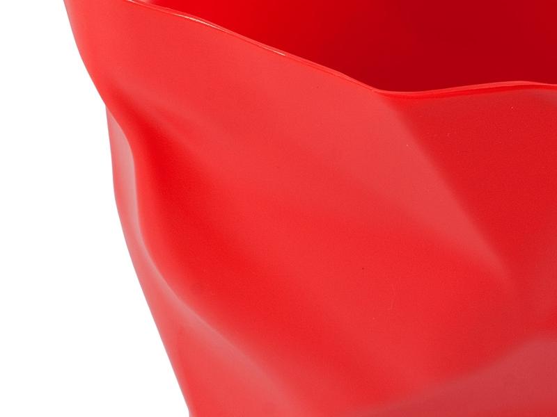 Bild von Stuhl-Design Papierkorb Scrunch - Rot