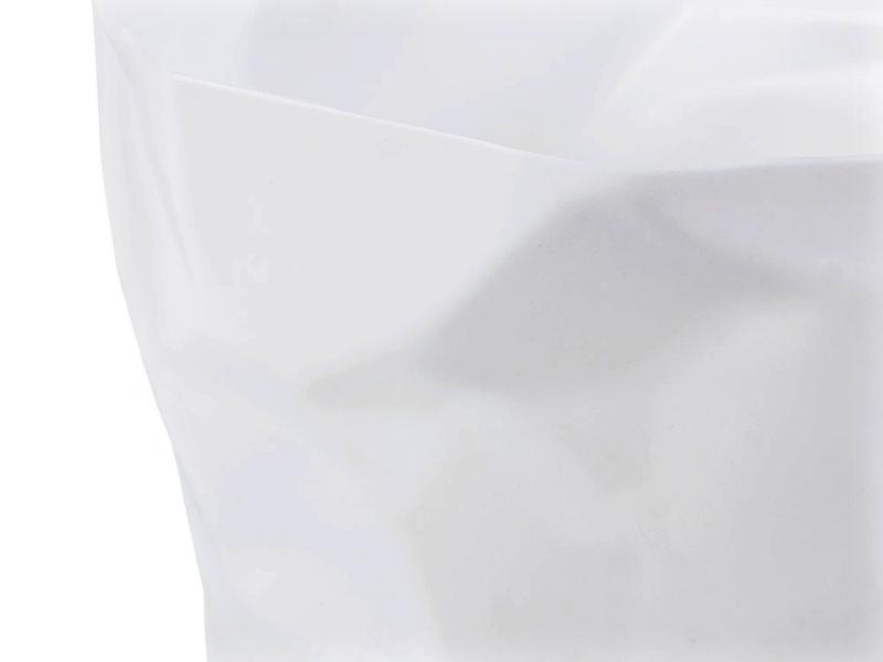 Bild von Stuhl-Design Papierkorb Scrunch - Weiß