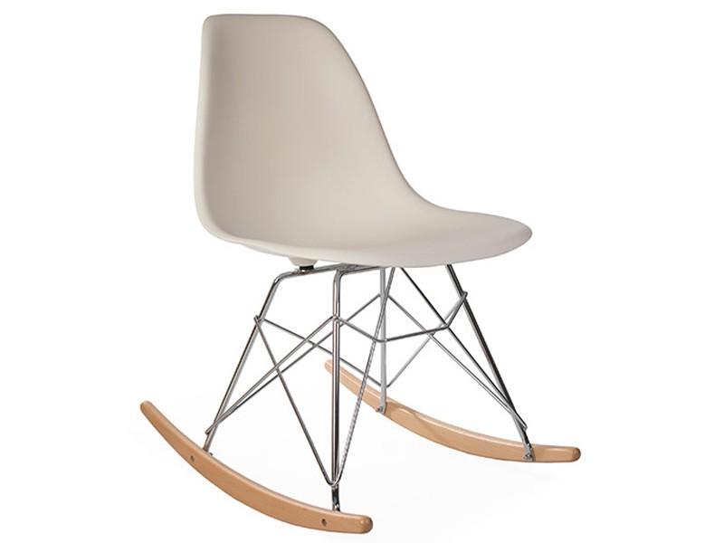 Bild von Stuhl-Design Rocking chair Cosy - Creme