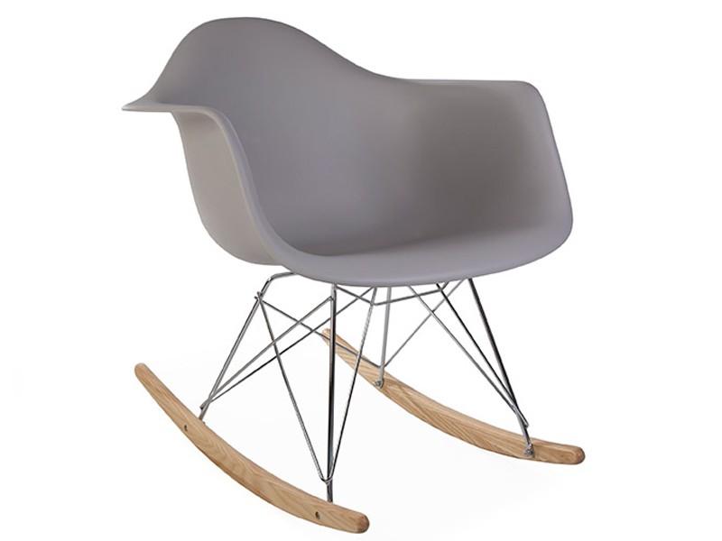 Bild von Stuhl-Design Rocking chair Cosy - Mausgrau