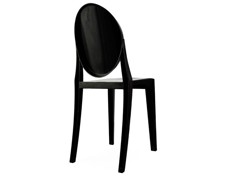 stuhl victoria ghost schwarz. Black Bedroom Furniture Sets. Home Design Ideas