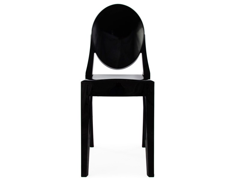 Bild von Stuhl-Design Stuhl Victoria Ghost- Schwarz