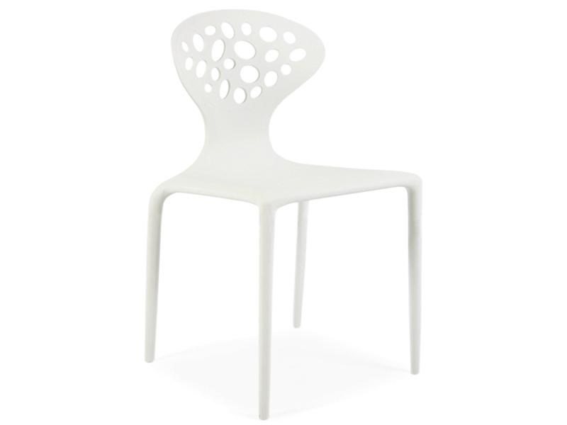 supernatural stuhl wei. Black Bedroom Furniture Sets. Home Design Ideas