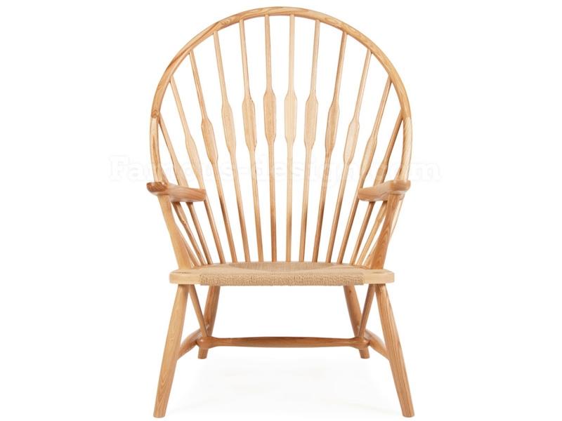 Bild von Stuhl-Design Wegner Stuhl  Peacock