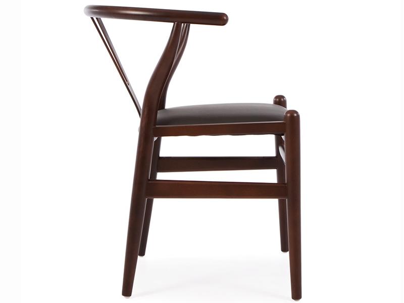 Bild von Stuhl-Design Wegner Stuhl Wishbone Y - Braun/Schwarz