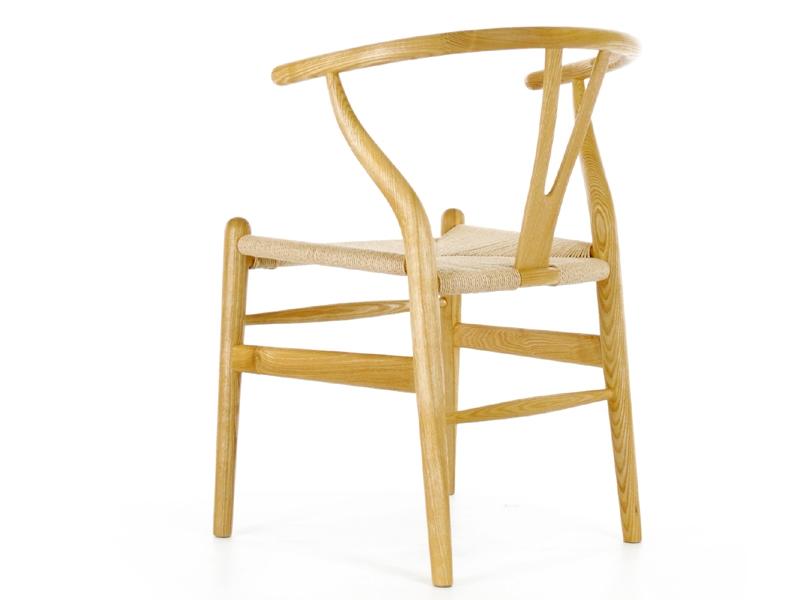 Bild von Stuhl-Design Wegner Wishbone CH24 Stuhl - Naturel