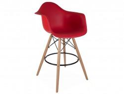 Bild von Stuhl-Design Barstuhl DAB - Granat Rot