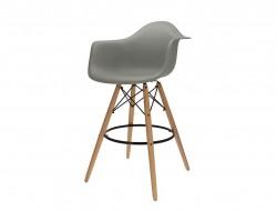 Bild von Stuhl-Design Barstuhl DAB - Grau