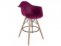 Bild von Stuhl-Design Barstuhl DAB - Lila