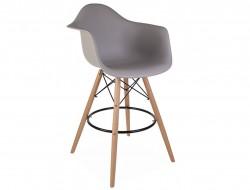 Bild von Stuhl-Design Barstuhl DAB - Mausgrau