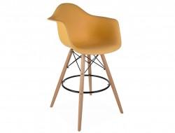 Bild von Stuhl-Design Barstuhl DAB - Orange