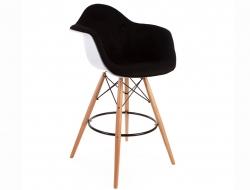 Bild von Stuhl-Design Barstuhl DAB Wollpolsterung - Schwarz