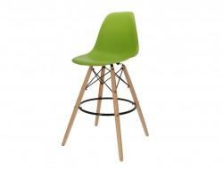 Bild von Stuhl-Design Barstuhl DSB - Apfelgrün