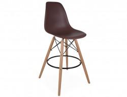 Bild von Stuhl-Design Barstuhl DSB - Kaffee
