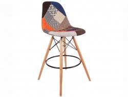 Bild von Stuhl-Design Barstuhl DSB - Patchwork