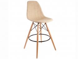 Bild von Stuhl-Design Barstuhl DSB Textur - Beige