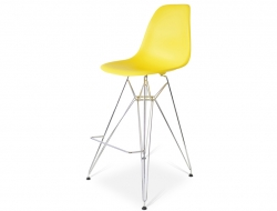 Bild von Stuhl-Design Barstuhl DSR - Gelb