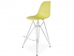 Bild von Stuhl-Design Barstuhl DSR - Olivgrün