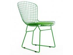 Bild von Stuhl-Design Bertoia Wire Side Stuh - Grün