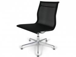 Bild von Stuhl-Design Besucherstuhl EA105 - Schwarz