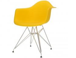 Bild von Stuhl-Design DAR Stuhl - Gelb