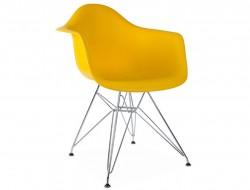 Bild von Stuhl-Design DAR Stuhl - Gelbsenf