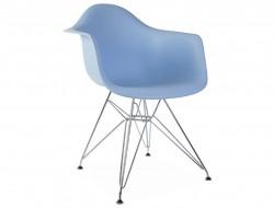 Bild von Stuhl-Design DAR Stuhl - Hellblau