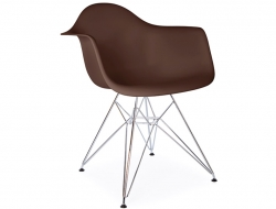 Bild von Stuhl-Design DAR Stuhl - Kaffee
