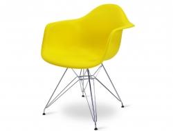Bild von Stuhl-Design DAR Stuhl - Zitronengelb