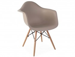 Bild von Stuhl-Design DAW Stuhl - Grau beige