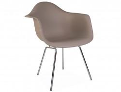 Bild von Stuhl-Design DAX Stuhl - Grau beige