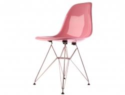 Bild von Stuhl-Design  DSR Stuhl - Rosa Glänzend
