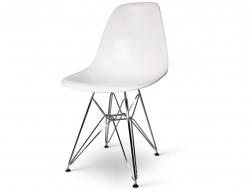 Chaise design DSR - BLANC