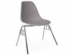 Bild von Stuhl-Design DSS Stuhl Stapelbar - Mausgrau