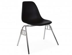 Bild von Stuhl-Design DSS Stuhl Stapelbar - Schwarz