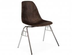 Bild von Stuhl-Design DSS Stuhl Textur Stapelbar - Kakao
