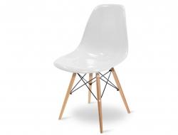Bild von Stuhl-Design DSW Stuhl - Weiß Glänzend