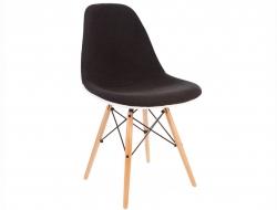 Bild von Stuhl-Design DSW Stuhl Wollpolsterung - Grau