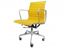 Bild von Stuhl-Design Eames Alu EA117 - Gelb