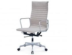 Bild von Stuhl-Design Eames Alu EA119 - Grau beige
