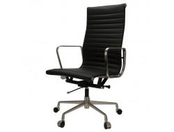 Bild von Stuhl-Design Eames Alu EA119 Premium - Schwarz