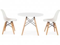 Bild von Stuhl-Design Eames Kinder Tisch - 2 DSW Stühle