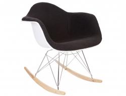 Bild von Stuhl-Design Eames RAR Wollpolsterung - Grau