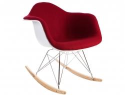 Bild von Stuhl-Design Eames RAR Wollpolsterung - Rot