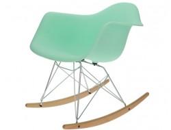 Bild von Stuhl-Design Eames Rocking Chair RAR- Minzgrün