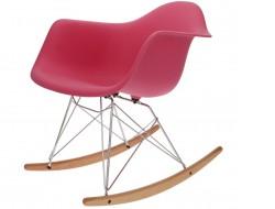 Bild von Stuhl-Design Eames Rocking Chair RAR- Rosa