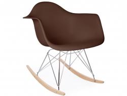 Bild von Stuhl-Design Eames Schaukelstuhl RAR - Kaffee