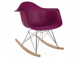 Bild von Stuhl-Design Eames Schaukelstuhl RAR - Lila